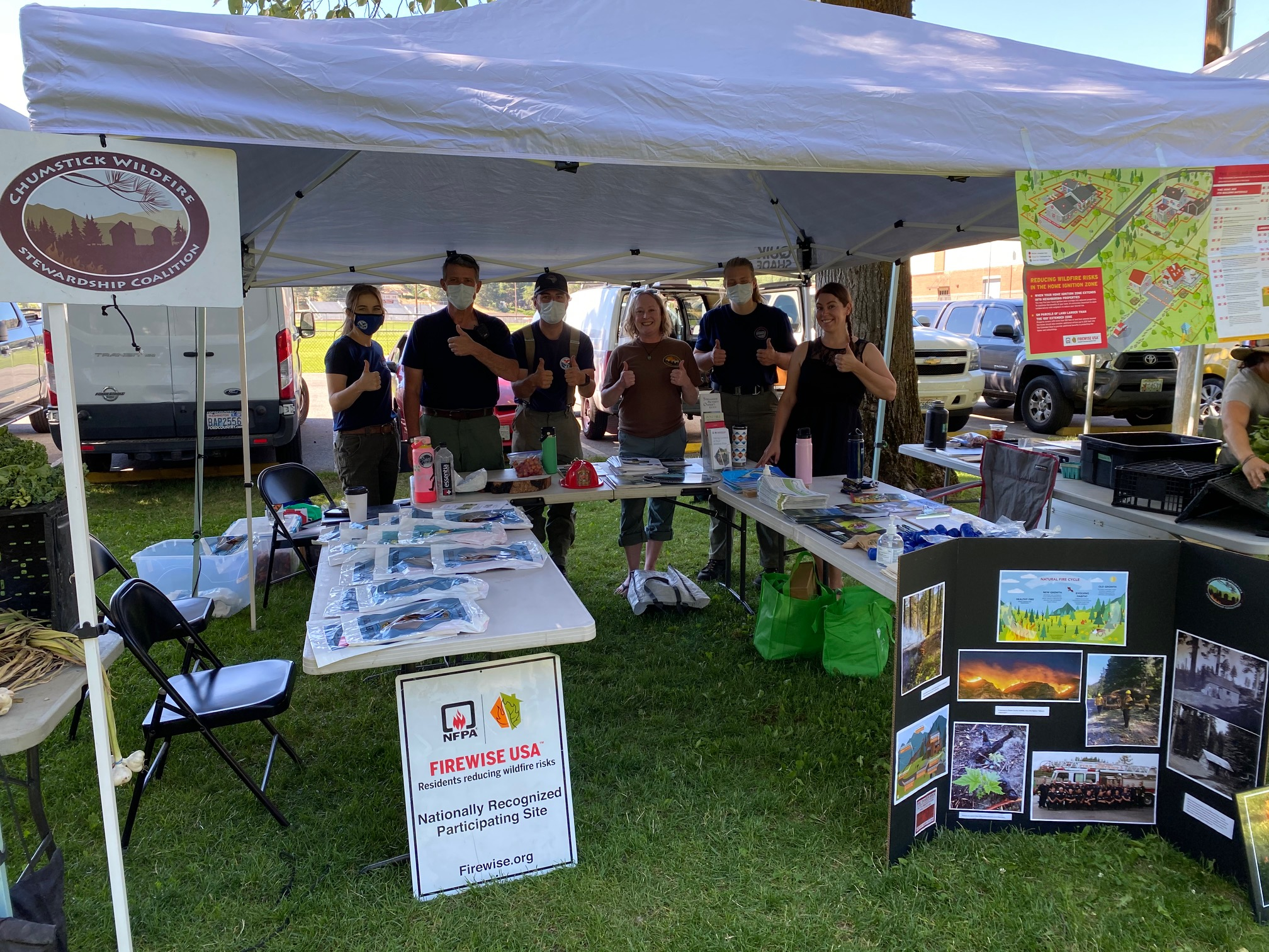 You are currently viewing The CWSC Provides Outreach at Local Farmer's Markets