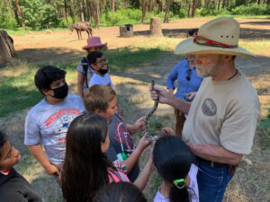 Read more about the article Kids' Forest Education Day at Red Tail Farms!